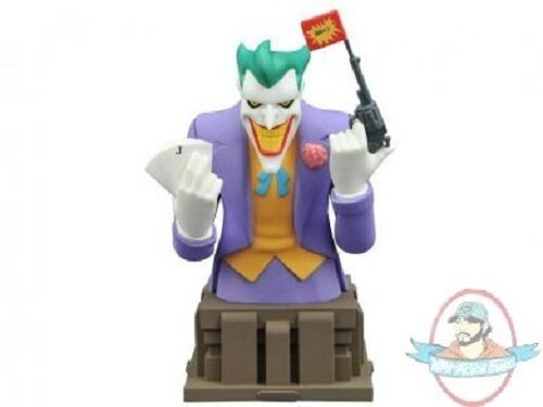 Dc Superman Animated Series Bust The Joker by Diamond Select