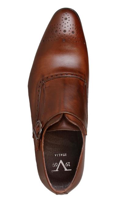 Versace V1969 Größe FEDOR Herren Schuhe Business Slipper Echtleder Größe V1969 43 44 46 4bc628