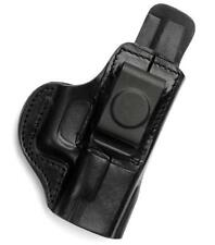 TAGUA IWB AIWB Right Hand Black Leather Concealment Holster TAURUS PT111 140 145
