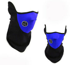 Blue Scarf Face Mask Neck Warmer Snood Balaclava Ski Snowboard Fishing Motorbike