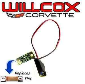 68 76 corvette temperature gauge resistor adjustable ebay image is loading 68 76 corvette temperature gauge resistor adjustable sciox Choice Image