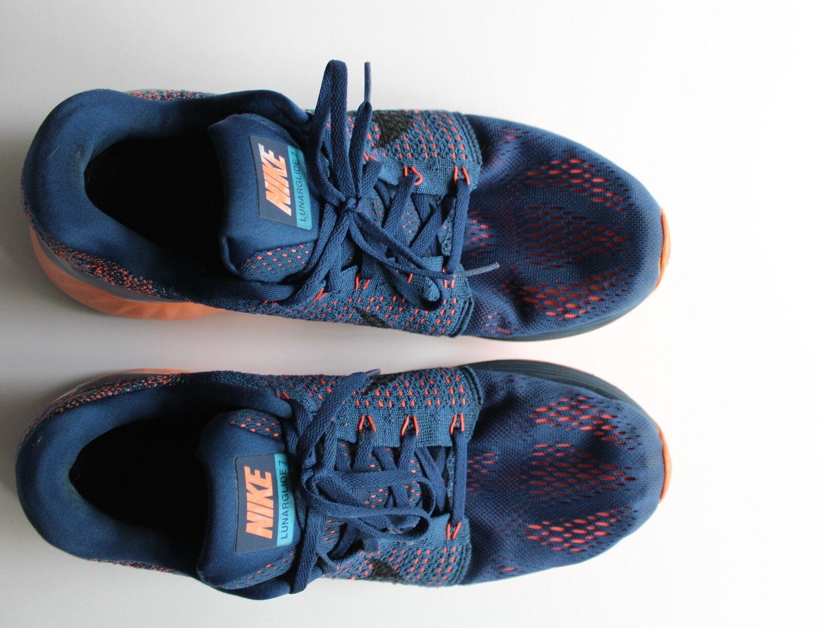 gli uomini sono nike lunarglide 7 laguna blu / / / arancio, scarpe da corsa 747355-400 dimensioni 11,5 | Negozio online di vendita  | Gentiluomo/Signora Scarpa  8595d9