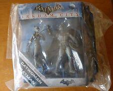 Mattel DC Universe Batman Legacy Edition Arkham City Catwoman Batman Figure B/W