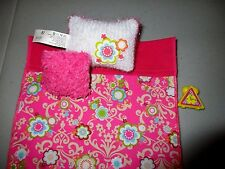 Barbie Doll Bedding Pillows Pink Flowers  Clock   Lot F7