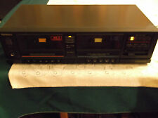 Technic RS-T20 Duel Cassette Stereo Tape Deck Player & 5 Unopen Sony Cassettes