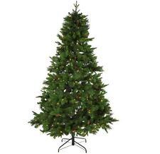 7ft (210cm) Di lusso Berry e cono Verde Artificiale Natale Albero Natale