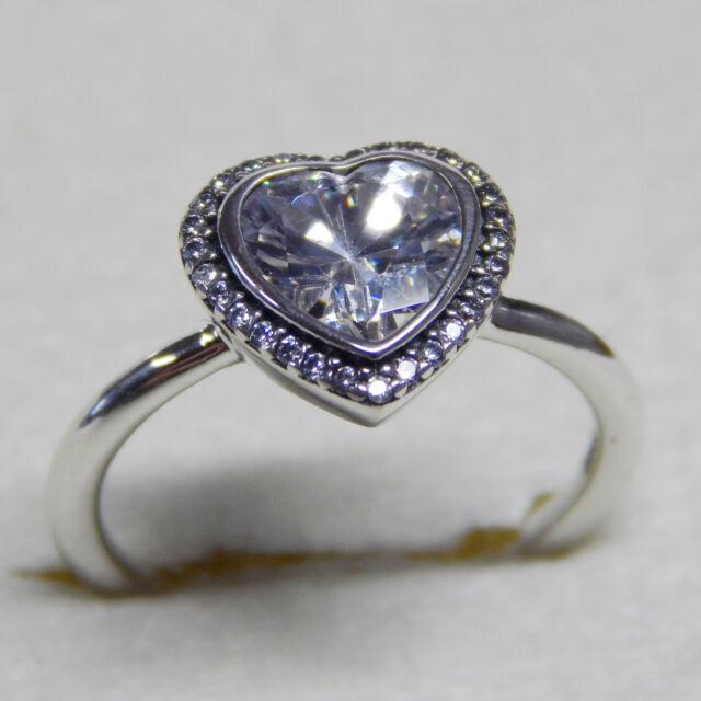 9519c163b 632e3 a238b; hot pandora sparkling love heart ring sterling 190929cz 7.5  56cm christmas gift 337ca 53995