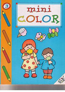 Mini Color 3. Album Per Colorare - Edidecora - Libro Nuovo In Offerta! Calcul Minutieux Et BudgéTisation Stricte