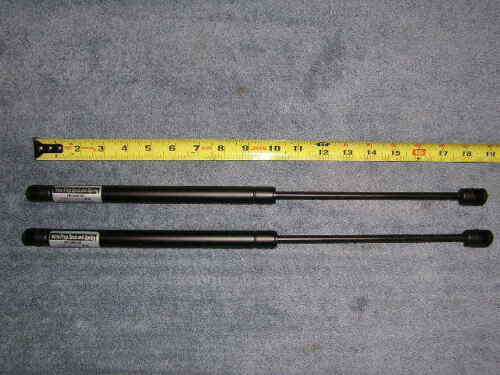 "2ea 18 "" 45# Truck Topper Cap Cover Shell Strut Shock Spring Prop Arm Lift Rod"
