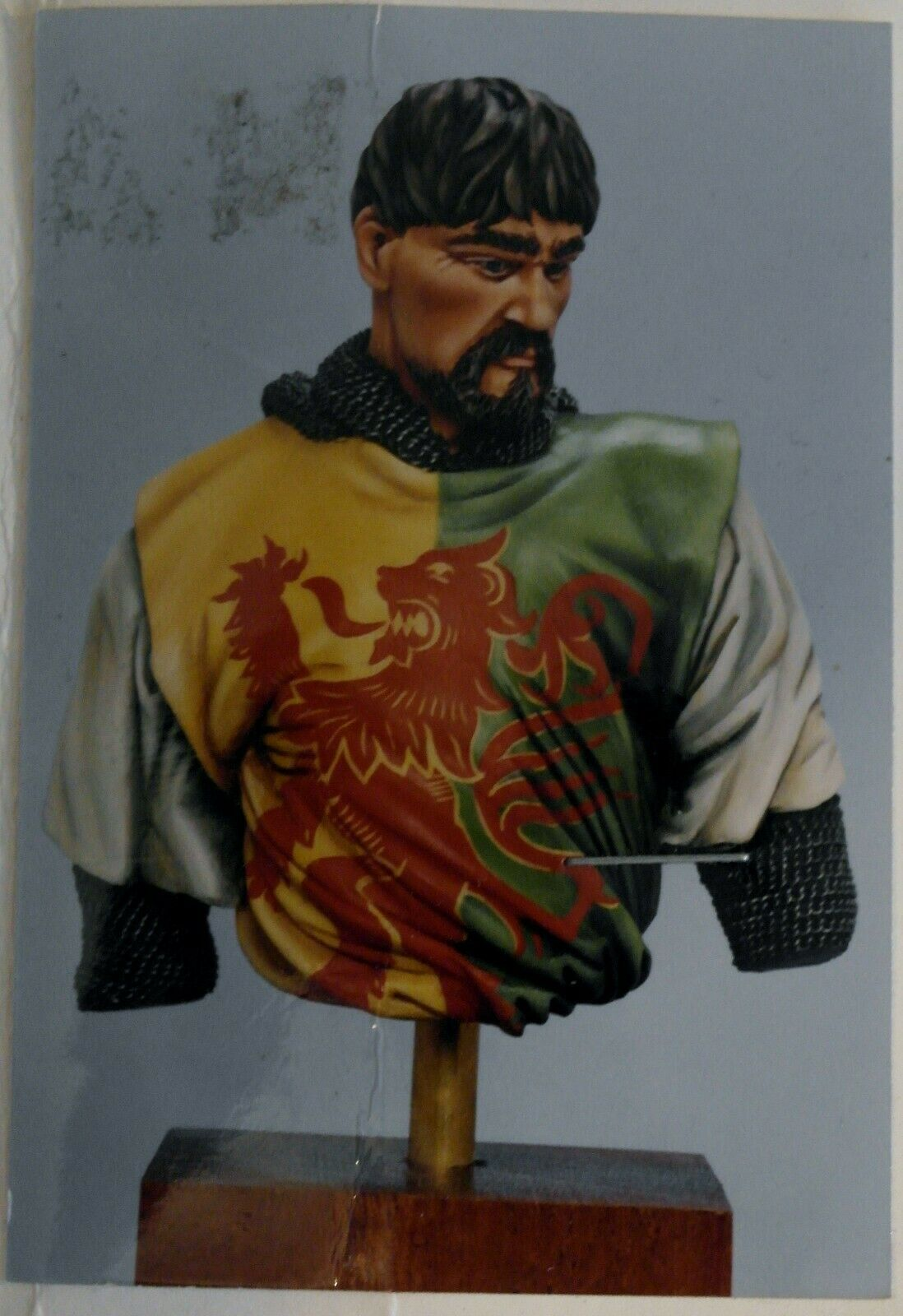 CELTIC MODELS   NORMAN KNIGHT BUST 90-120 SCALE RESIN KIT
