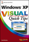 Windows XP Visual Quick Tips by Paul McFedries (Paperback, 2006)