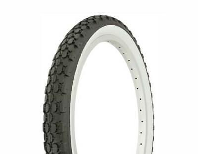 "Bicycle Tire Duro 20/"" x 2.125/"" Black//White Wall HF-851 Bike 30-50 PSI 260945 1"