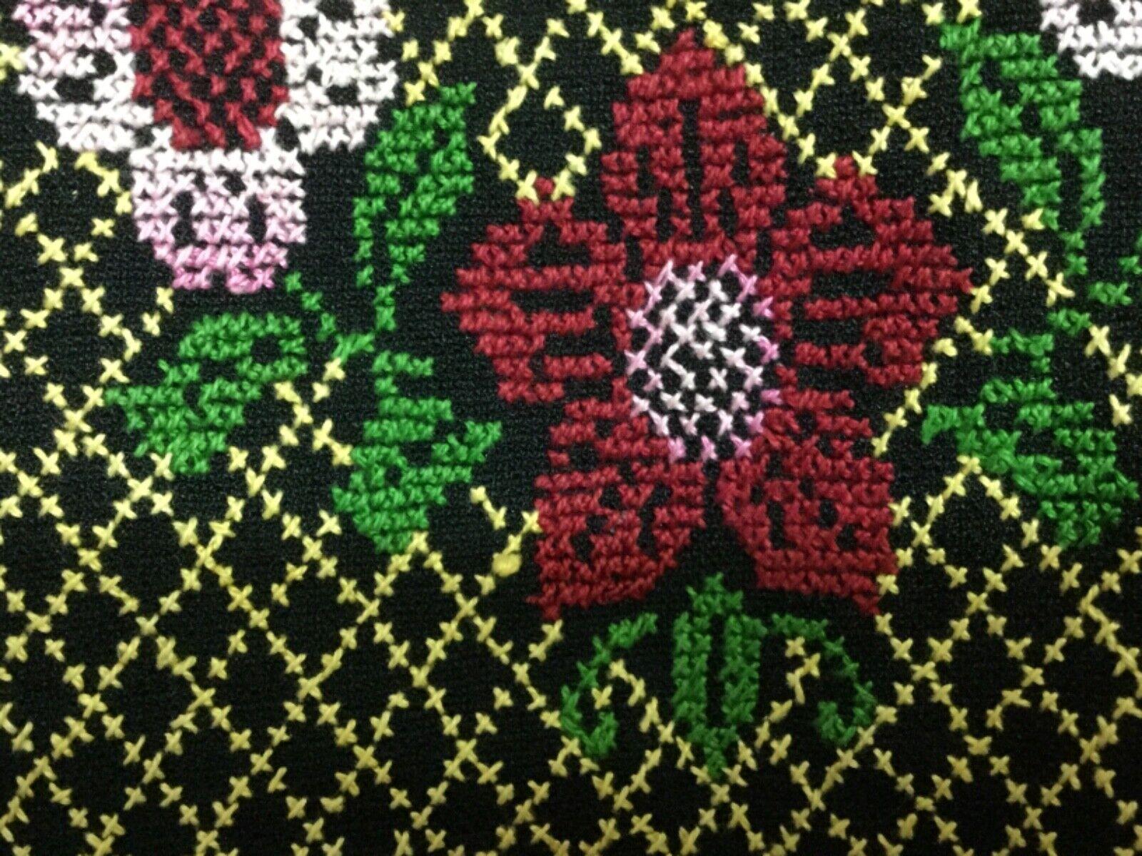 Hand made Embroiderey black Thobe  caftan dress G… - image 3