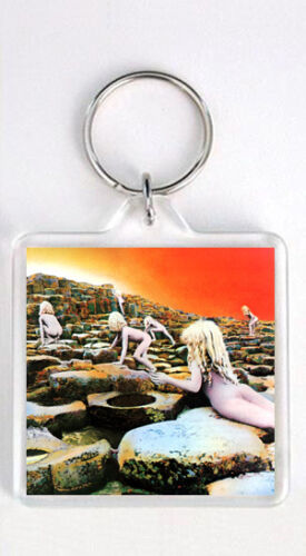 LED ZEPPELIN HOUSES OF THE HOLY LP COVER KEYRING LLAVERO