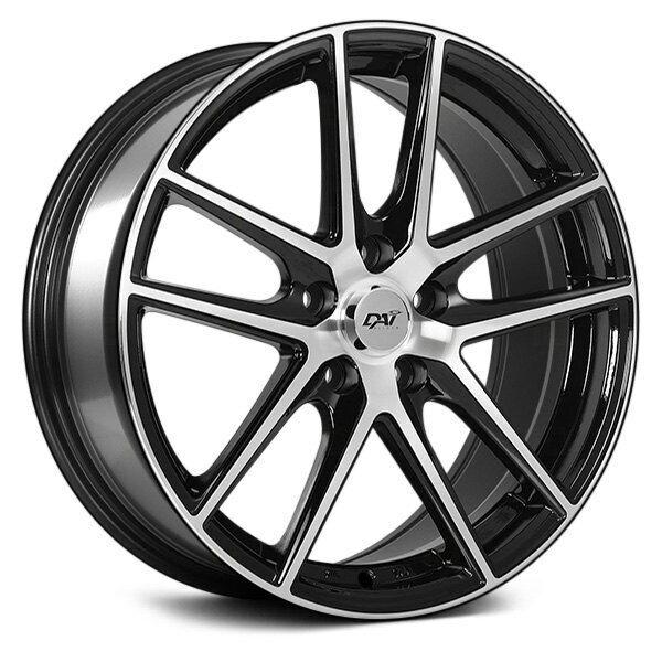 Dai Alloys Dw34 Target Wheels 15x6 5 40 5x114 3 73 1 Black Rims Set Of 4 For Sale Online Ebay