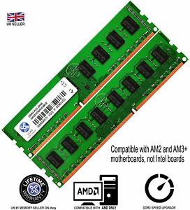 XUM-4GB-8GB-Memory-RAM-4-AMD-Desktop-PC3-10600-DDR3-1333MHz-240-Pin-Non-ECC-Lot