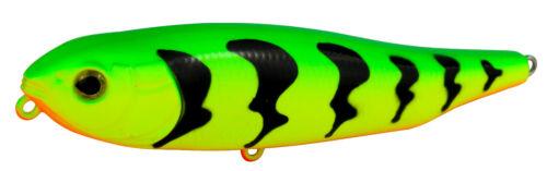 Programm Wobbler FIRE TIGER 9,5cm aus dem SEIKA Pro Stickbait  Farbe Toyama