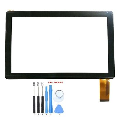 """7 Touch Screen Digitizer For 7 in iRola Kocaso DX758 Kids 7/"""" Tablet Tool Kit"""