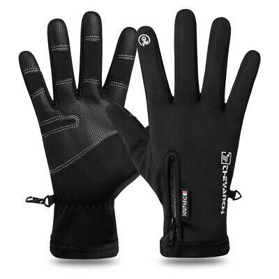 Men Women Winter Gloves Windproof Waterproof Thermal Touch Screen Mitten LIU9