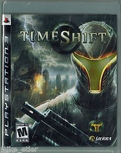 TimeShift-Sony-Playstation-3-2007-Factory-Sealed
