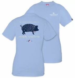 New Kids Small Youth Simply Southern Pig Traditions That Bind Us T-Shirt Shirt