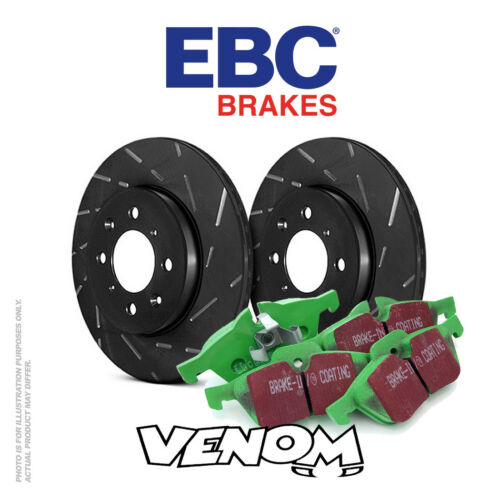 EBC Rear Brake Kit Discs & Pads for Hyundai i30 2.0 TD 20072012