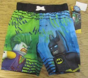 30b8aa4bb75e5 V4577 Boys Swim Trunks Board Shorts, Batman Joker Lego XS/CH 4-5, UV ...