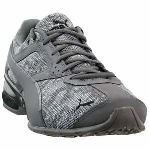 Puma-Tazon-6-Camo-Mesh-Lace-Up-Sneakers-Casual-Grey-Mens