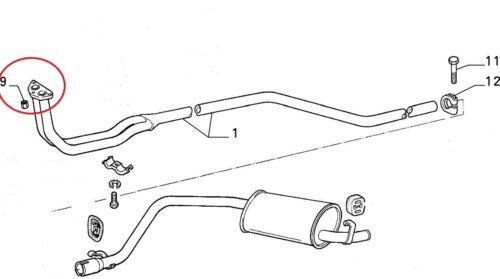 FIAT PANDA 1000 4x4 uno 1000 1108 joint d/'échappement