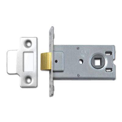3751-2.5-NP Legge Bathroom Lock 64MM NP