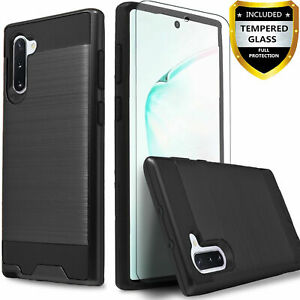 Premium TPU Hard Case for Samsung Galaxy Note 8 +Tempered glass Screen Protector
