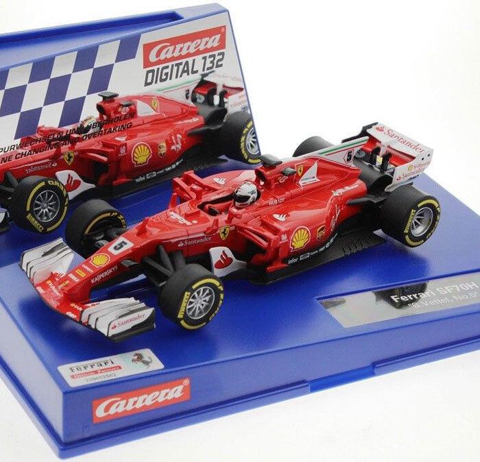 Carrera 30842 Digital Ferrari SF7OH F1 Sebastian Vettel 1 32 Slot Car