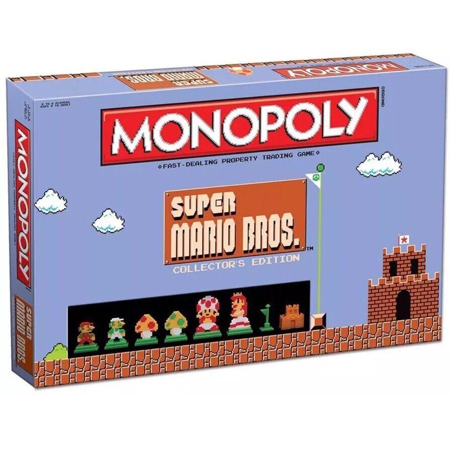 Monopol  super mario bros collector 's edition brettspiel