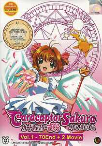 Anime-Cardcaptor-Sakura-The-Complete-TV-Series-1-70-End-2-Movies-DVD-Box-Set