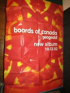 Boards-Of-Canada-Geogaddi-LP-CD-Promo-Giant-Poster-Giant-Poster-150-x-100