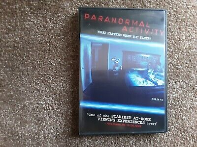 Dvd Paranormal Activity 2009 Movie And Case In Great Condition No Insert Ebay