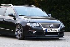 Spoilerschwert Frontspoilerlippe Cuplippe aus ABS für VW Passat 3C B6 mit ABE