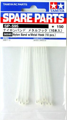 Nylon Band w//Metal Hook SP595 Tamiya 50595 10pcs