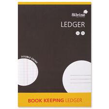 A4 Silvine Conti contabilità Ledger doppio ingresso gratuito UK consegna