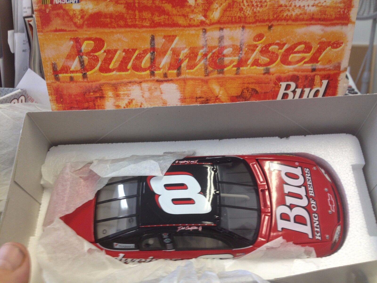Åtgärd 1 24 NASbil Dale Earnhardt Jr Budweiser 1999