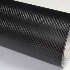 127*30 cm Car SUV Wall Black DIY 3D Carbon Fiber Wrap Paper Vinyl Film Sticker