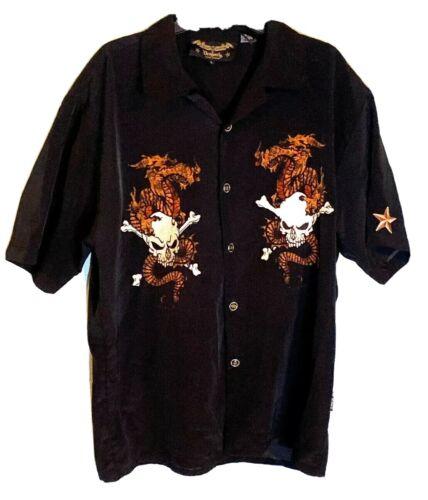 MOTLEY CRUE DRAGONFLY Shirt N.SIXX RARE SKULL BUTT