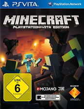 Minecraft: PlayStation Vita Edition (Sony PlayStation Vita, 2014, Keep Case)