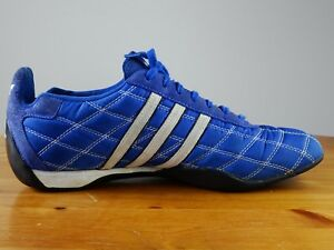 Details about Adidas Tuscany Goodyear Driver's Racing Shoes Blue Men's Size 9 Rare Excellent!