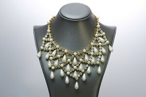 Dolce-and-Gabbana-Victorian-Style-Crystal-Pearl-Necklace