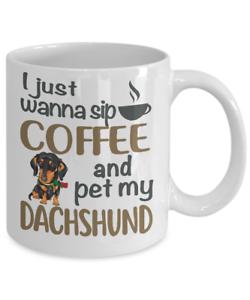 DACHSHUND MUG SIP COFFEE WITH DACHSHUND COFFEE MUG DOXIE COFFEE MUG