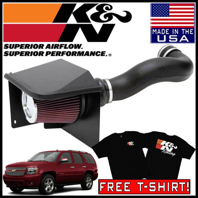 Fits Chevy Tahoe 2007-2008 K/&N 57 Series Performance Cold Air Intake System