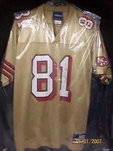huge discount 0c254 d8cfe Details about HALL OF FAME Terrell Owens SIGNED Authentic Adidas Alternate  Jersey Medium 49ers