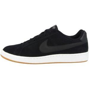 Nike-Court-Royale-Suede-zapatos-calzoncillos-ocio-cortos-Black-819802-013