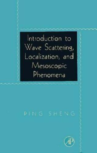 Introduction to Wave Scattering, Localization, and Mesoscopic Phenomen-ExLibrary